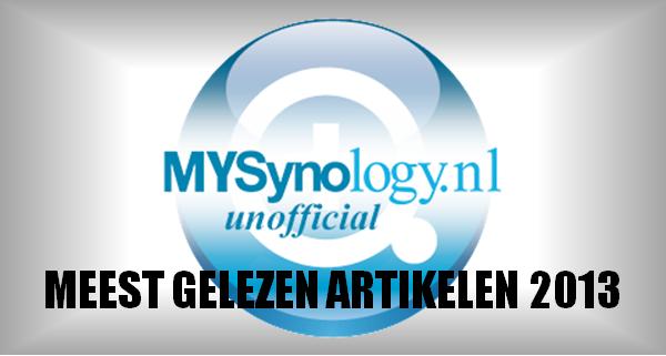 My Synology Meest gelezen artikelen 2013