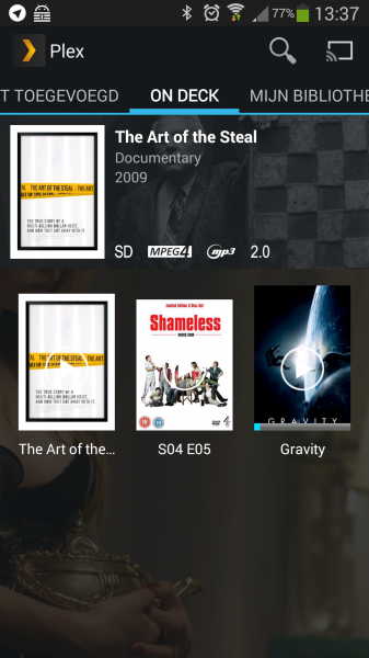 Plex op Android