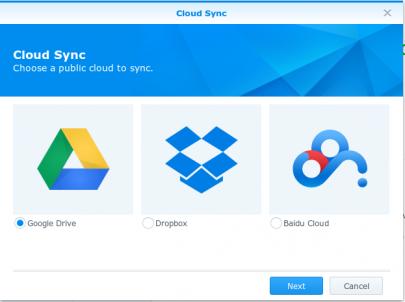Cloud Sync Ondersteuning