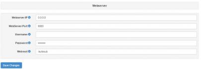 autosub-webserver-opties