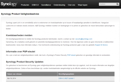 Security Pagina