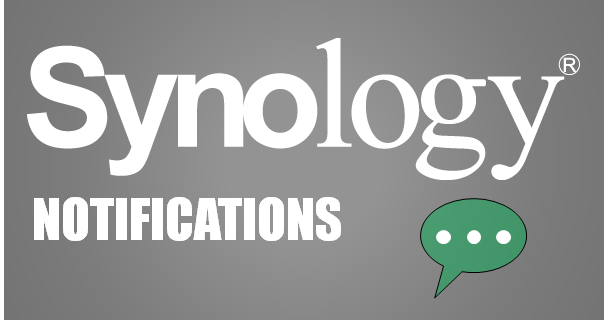 Synology Notifications