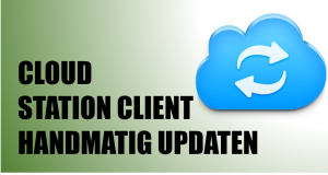 Cloud Station Client handmatig updaten