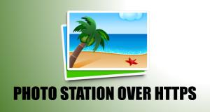 Photo Station over HTTPS
